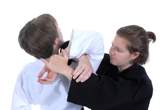 Photo Of A Personal Self-Defense Class In Progress.